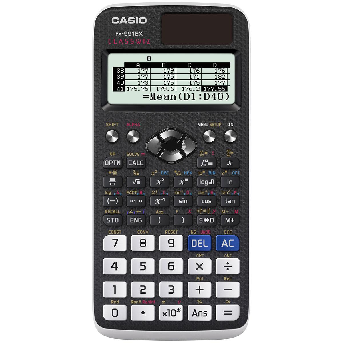 Casio fx-991ex scientific calculator | whsmith.